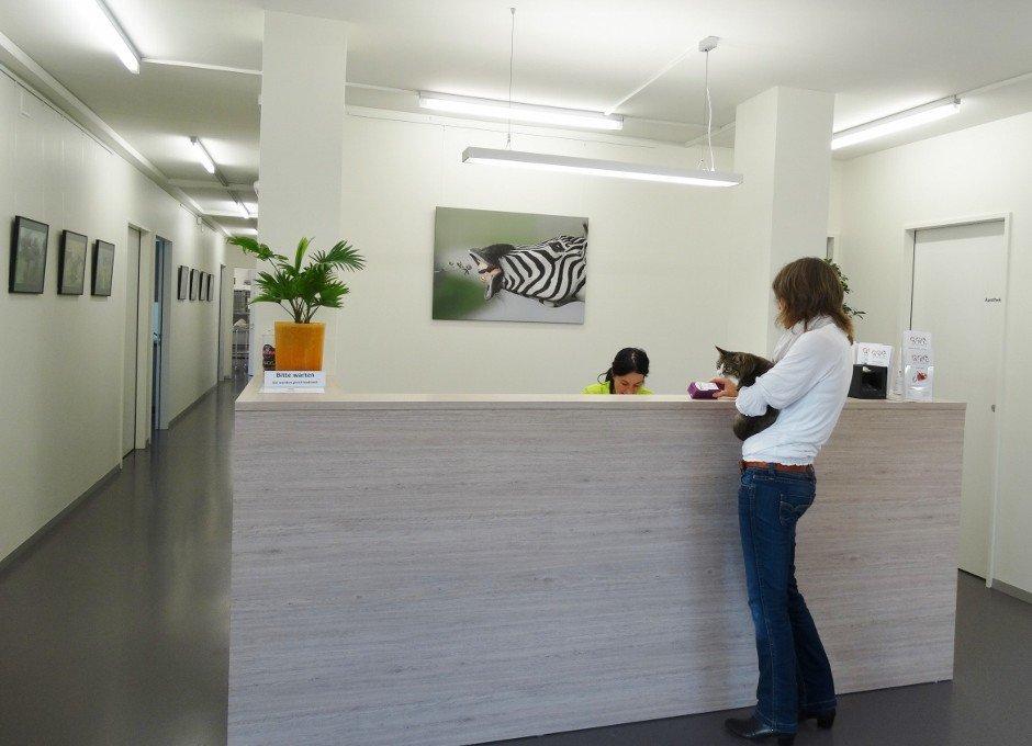 Empfang Klinik ARC